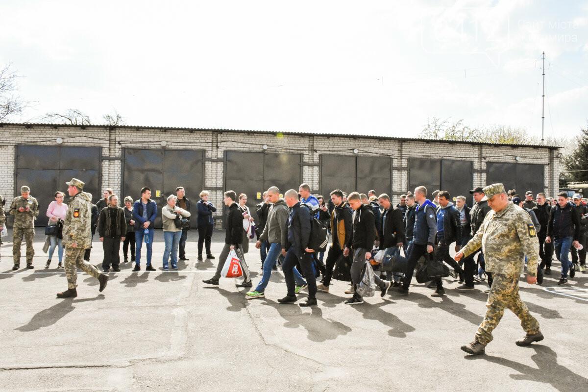 Юнаків Житомирщини відправили на строкову службу, фото-29