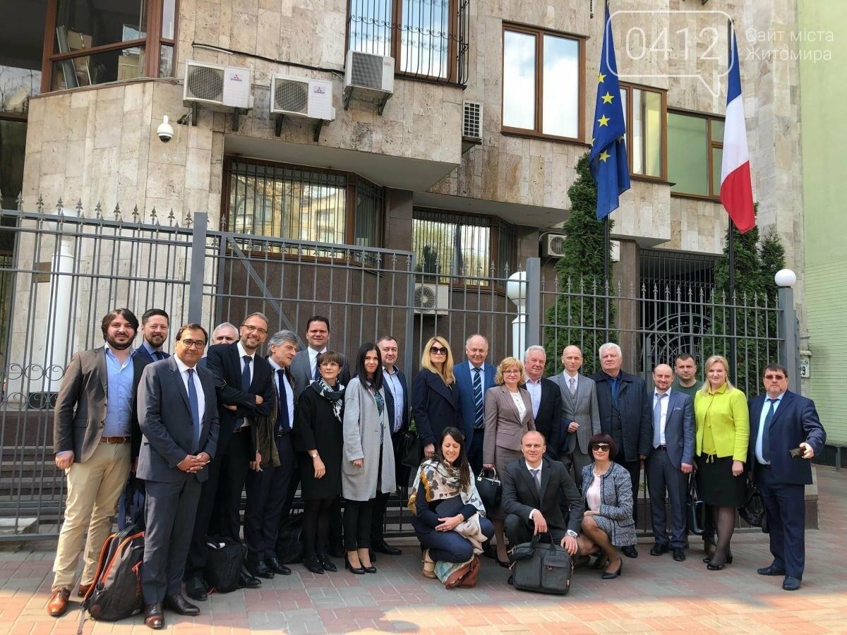 Два мери з Житомирщини беруть участь у франко-українсько-польській конференції, фото-2
