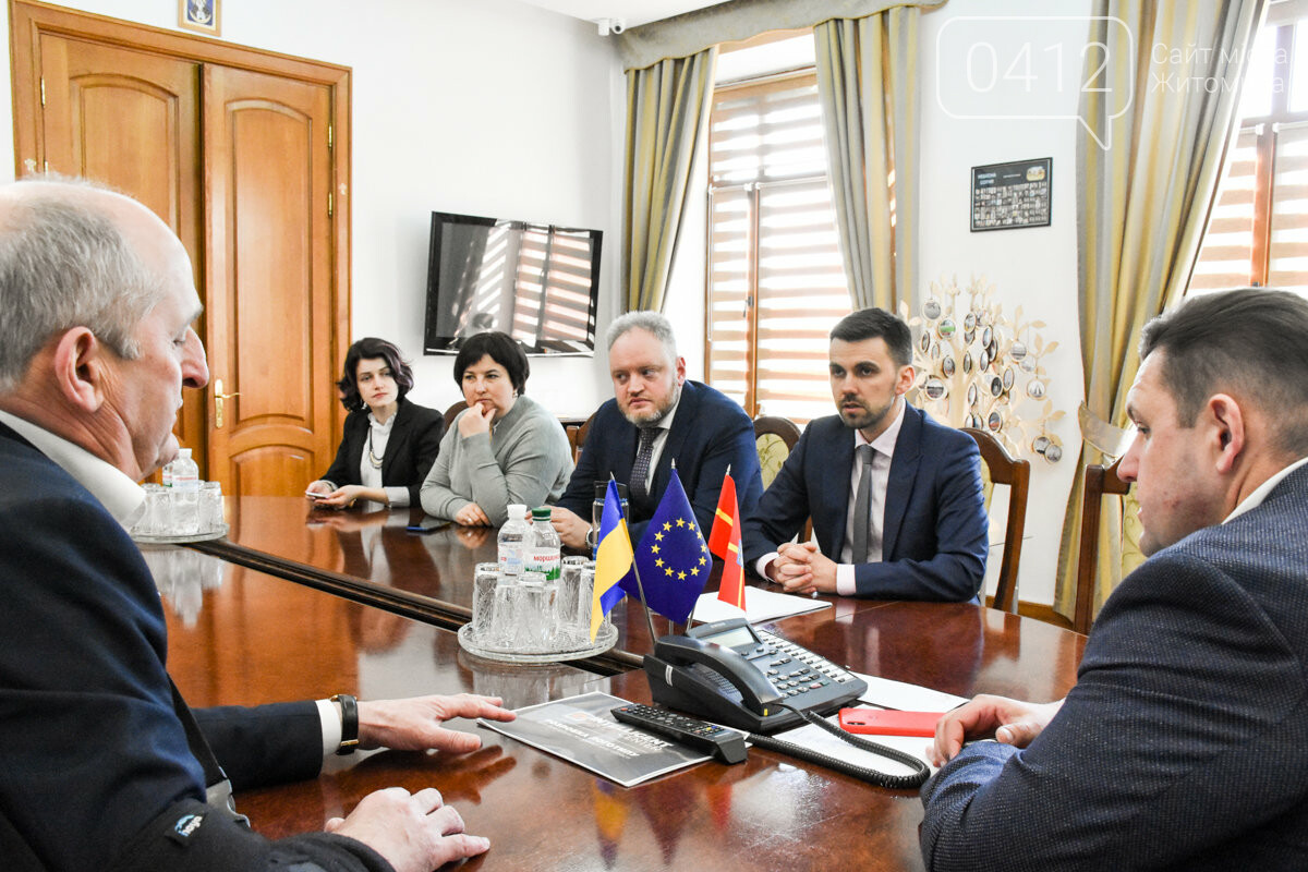 Заступник міністра охорони здоров'я Павло Ковтонюк відвідав Житомир, фото-3