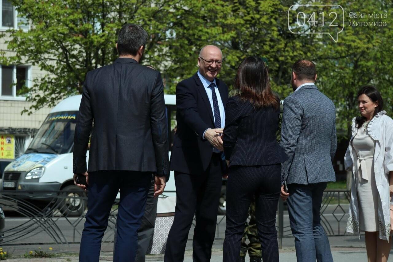 Посол Чеської Республіки відвідав Житомир, фото-1