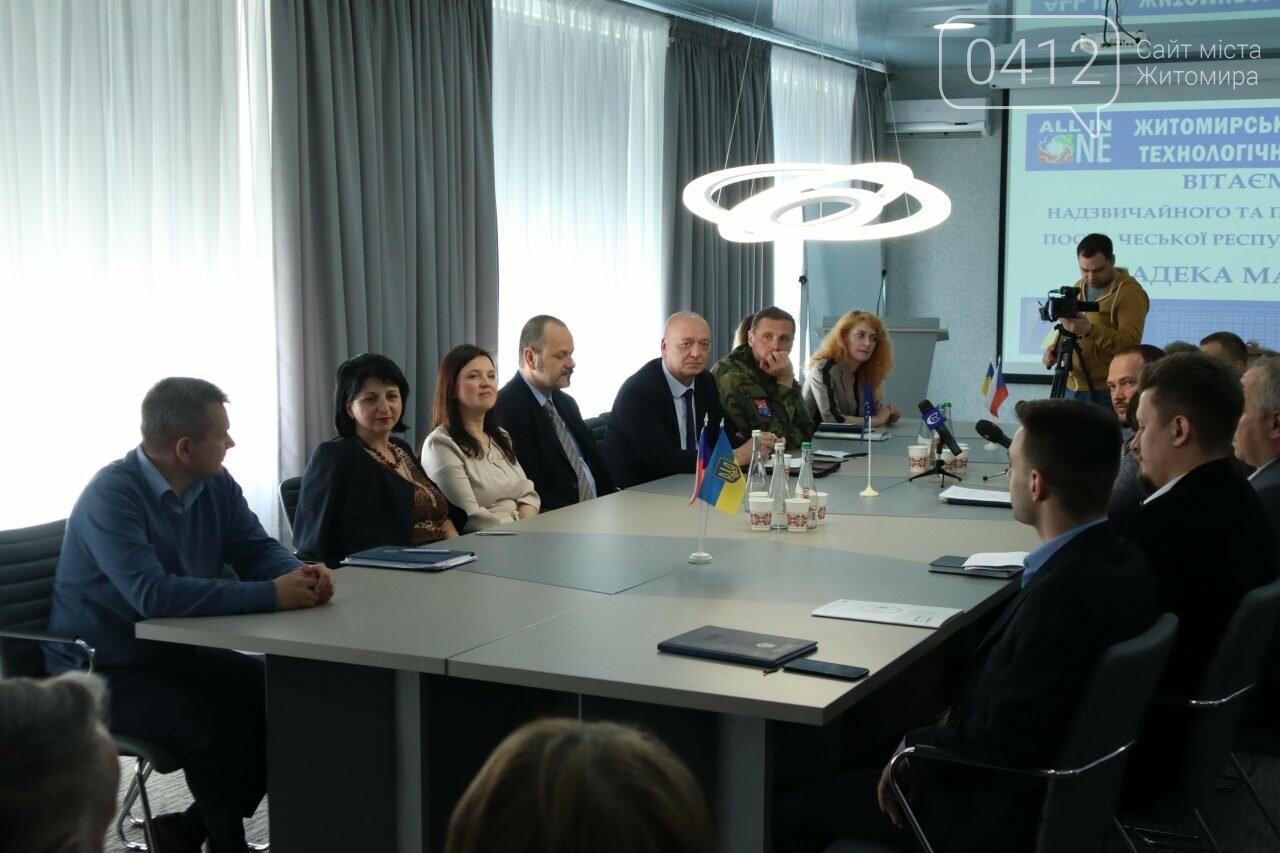 Посол Чеської Республіки відвідав Житомир, фото-3