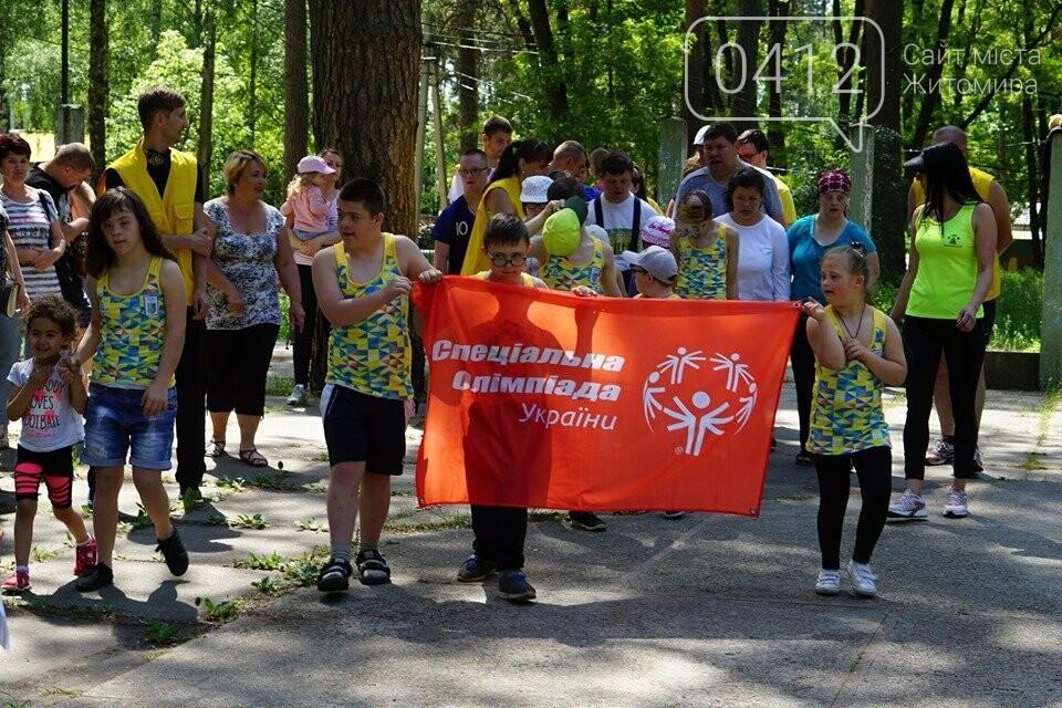 У Житомирі відбулась олімпіада для особливих діток, фото-1