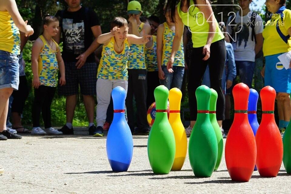 У Житомирі відбулась олімпіада для особливих діток, фото-2