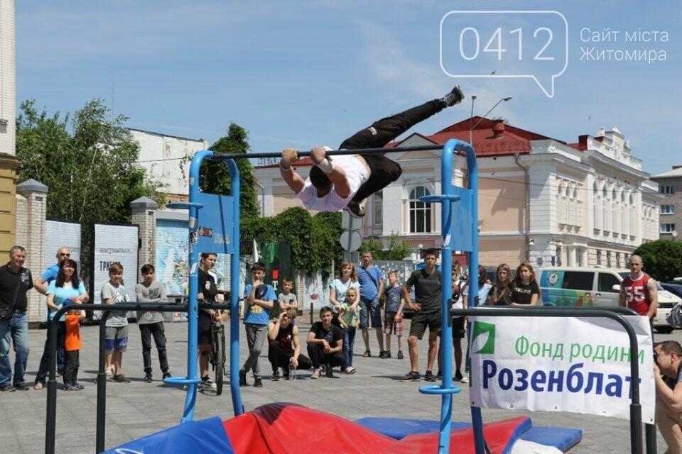 Відкритий турнір зі стріт-воркауту пройшов у Житомирі, фото-1