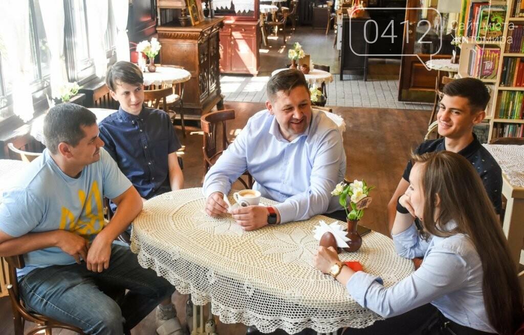 Кава з губернатором Житомирської області, фото-4