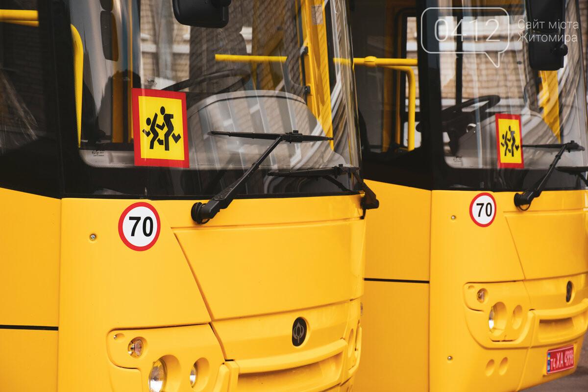 Нові шкільні автобуси з'явились на Житомирщині, фото-2