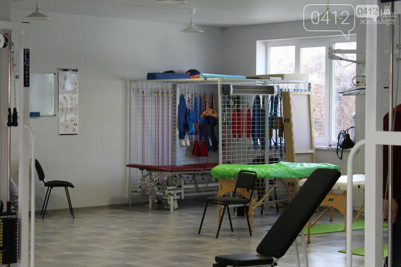 Поштовх до нового життя або як у Житомирському Реабілітаційному центрі ставлять на ноги , фото-9