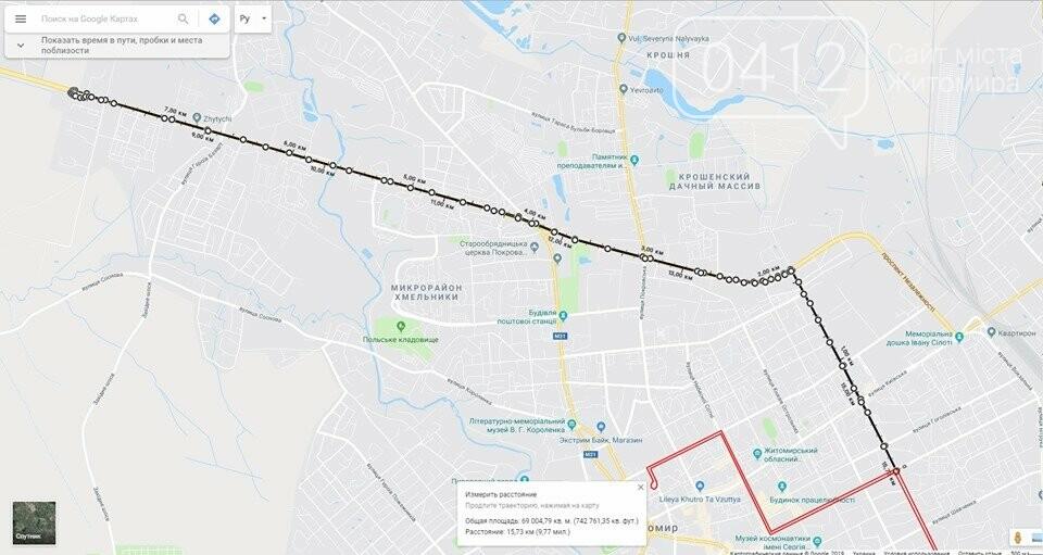 Керівник Житомирського ТТУ пропонує створити нові трамвайні лінії, фото-1