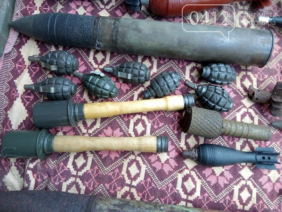 На Житомирщині чоловік зробив колекцію боєприпасів часів Другої світової, фото-7