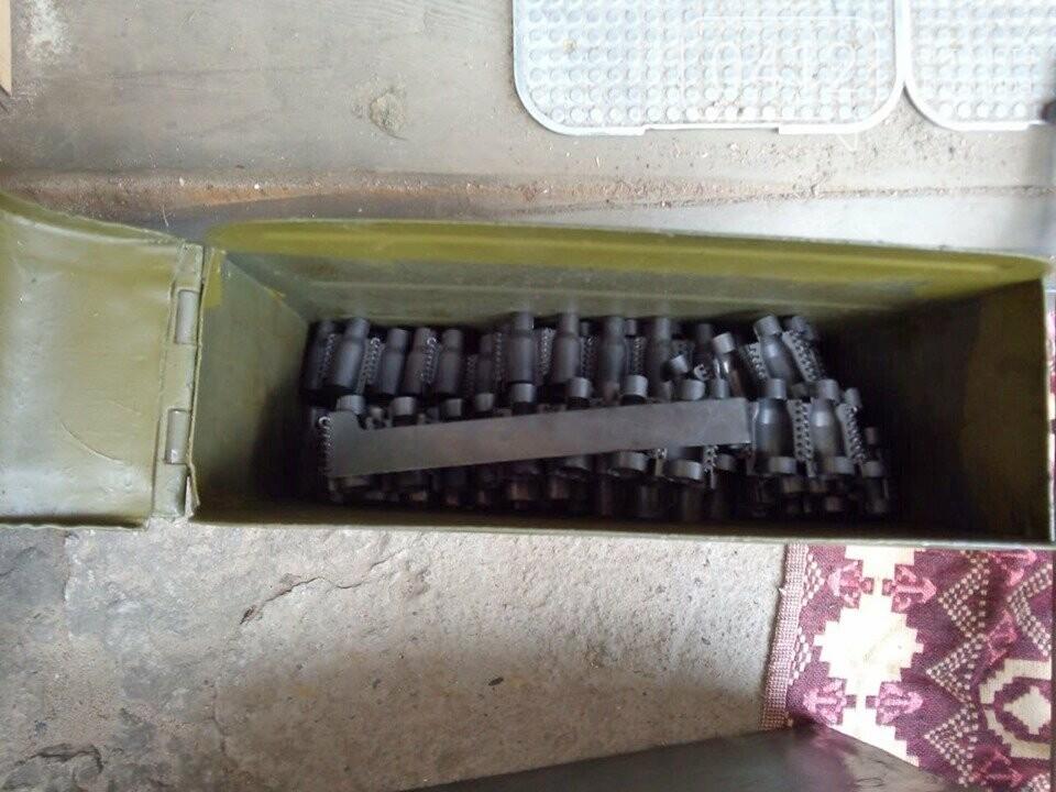 На Житомирщині чоловік зробив колекцію боєприпасів часів Другої світової, фото-2
