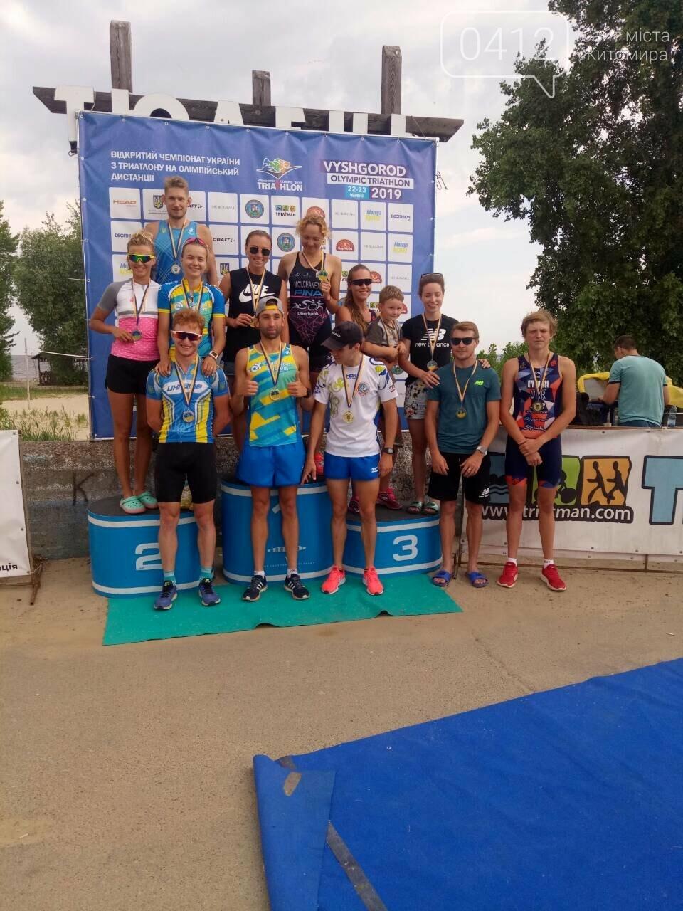 Житомирський студент отримав бронзу на чемпіонаті України з триатлону, фото-1