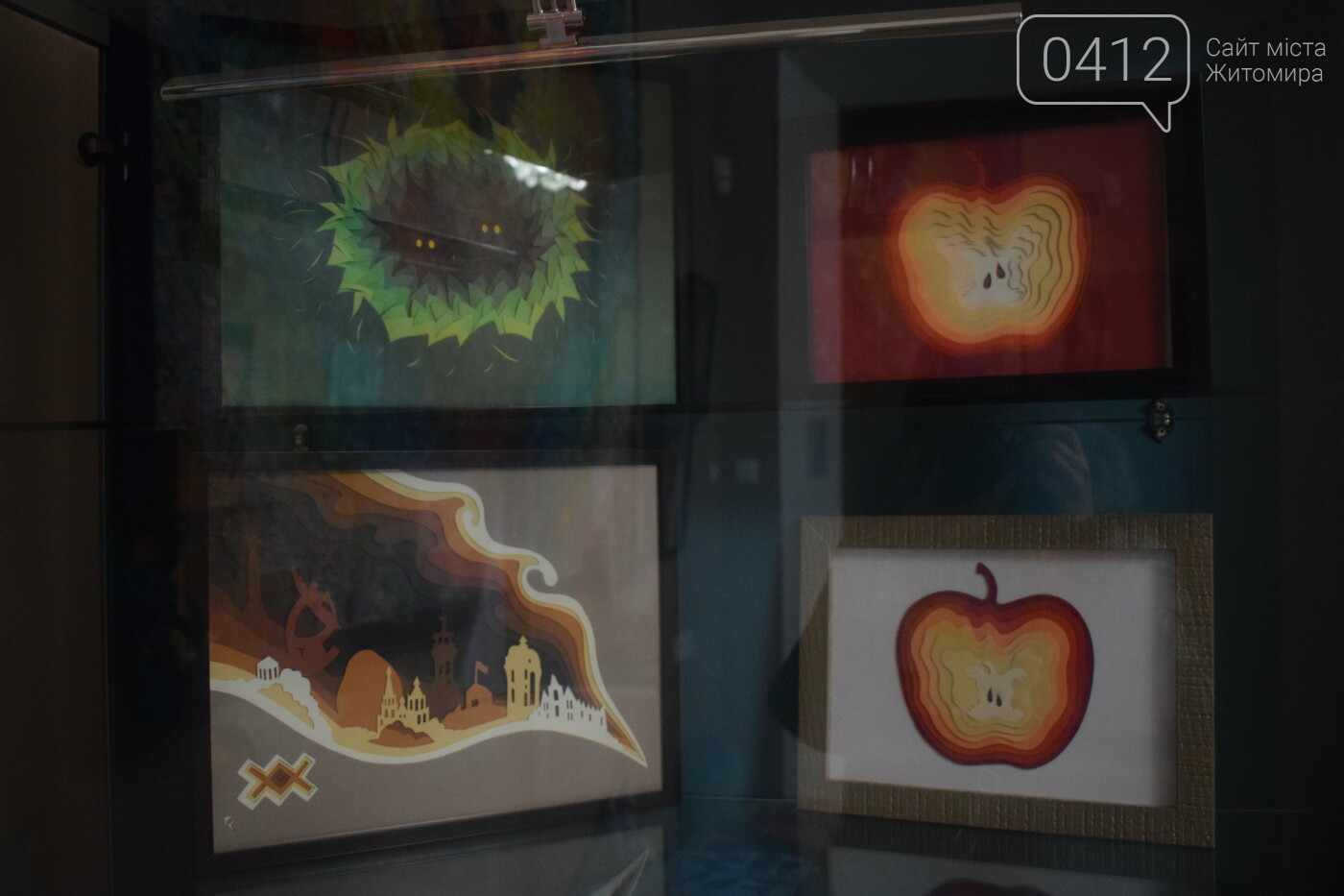 У Житомирі відкрилася виставка об'ємних витинанок. Фото, фото-9