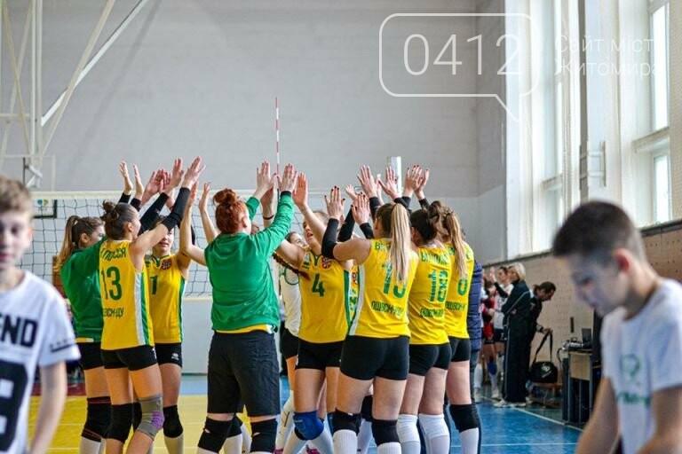 У Житомирі комунальні волейбольні клуби перемогли у чергових етапах змагань, фото-5