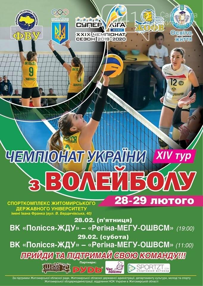 Житомир прийматиме Всеукраїнські змагання з волейболу серед жіночих та чоловічих команд, фото-2