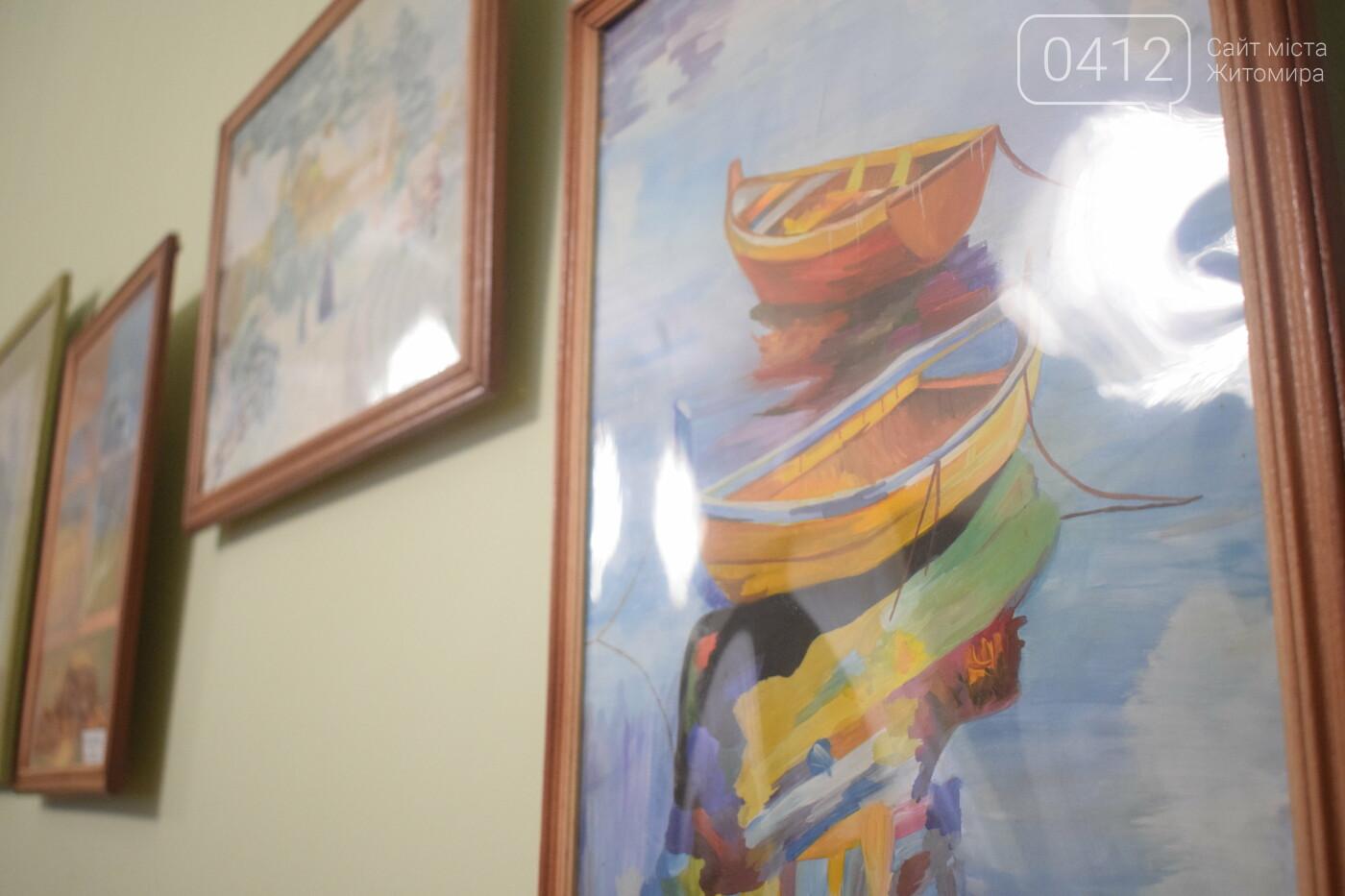 У Житомирі відкрилася виставка вихованців школи мистецтв. ФОТО, фото-4
