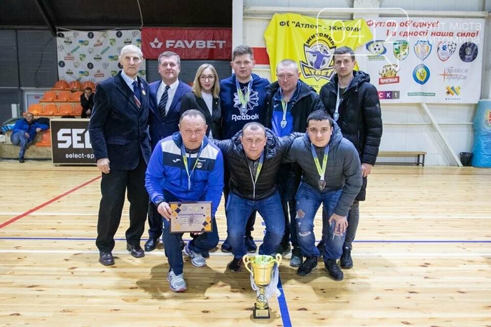 У Житомирі нагородили переможців чемпіонату міста з футзалу. ФОТО, фото-3