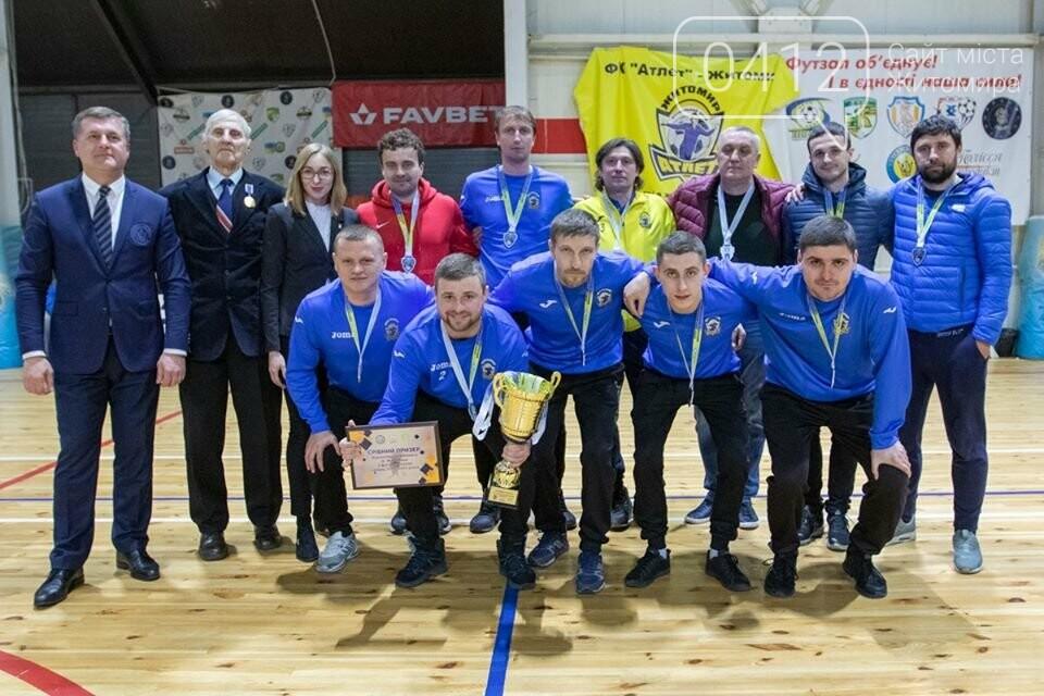 У Житомирі нагородили переможців чемпіонату міста з футзалу. ФОТО, фото-8