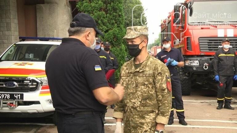 На Житомирщині рятувальників та військових нагородили відзнаками Кабміну, фото-2