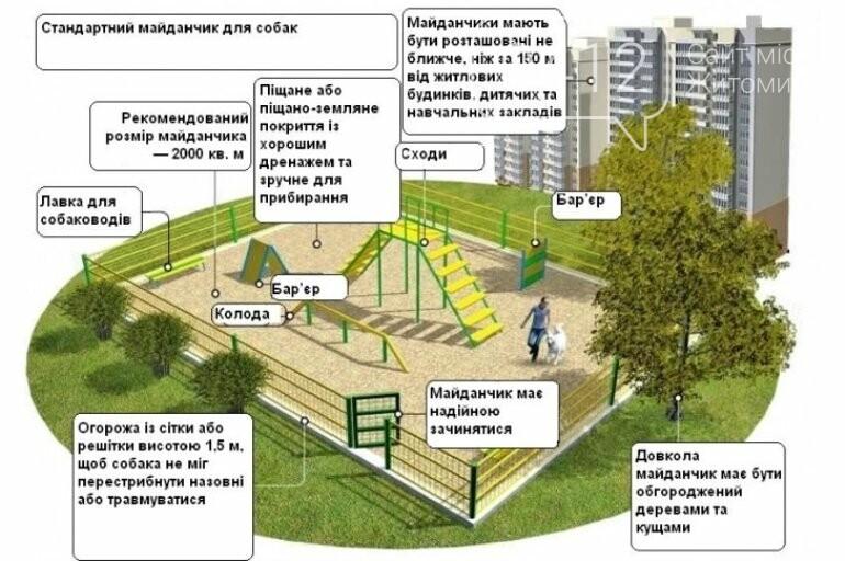 Першому працюючому майданчику для домашніх песиків у Житомирі бути!, фото-2