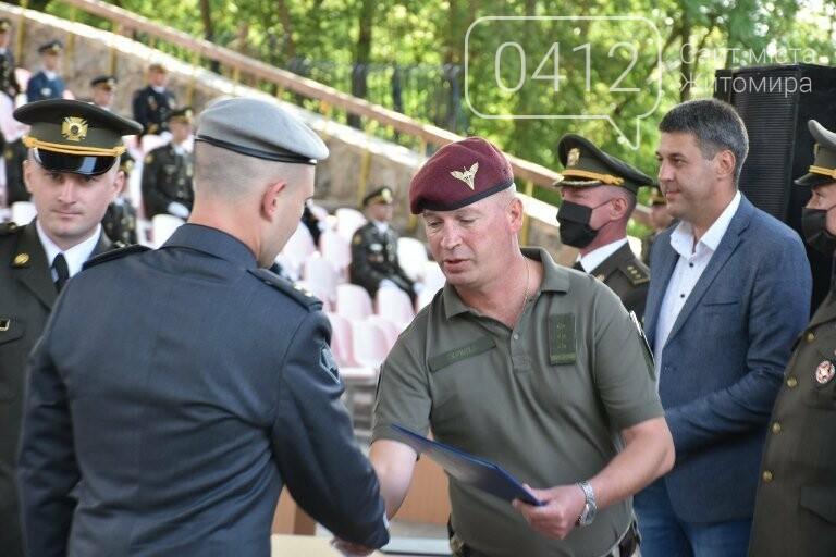 170 випускників Житомирського військового інституту отримали звання лейтенантів, фото-15