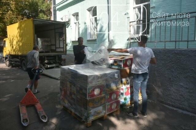 Житомирщина отримала чергову партію гуманітарної допомоги, фото-1