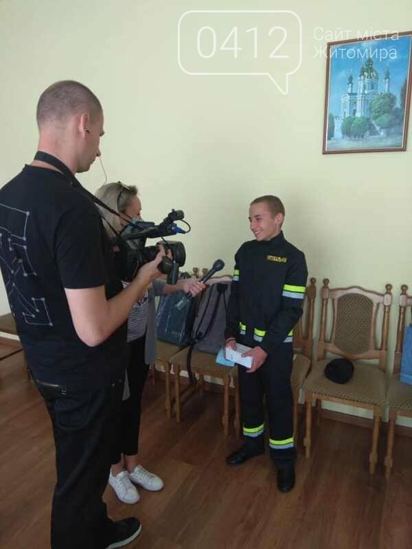 14-річний Герой-рятувальник 2020 із Житомирщини продовжує отримувати подарунки!, фото-2