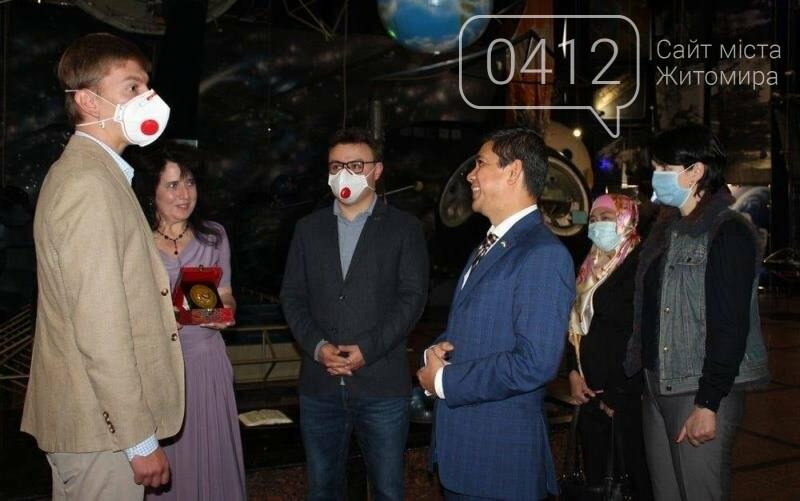 Житомирський музей космонавтики відвідав Надзвичайний і Повноважний Посол Республіки Індонезії в Україні, фото-2