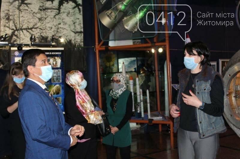 Житомирський музей космонавтики відвідав Надзвичайний і Повноважний Посол Республіки Індонезії в Україні, фото-5