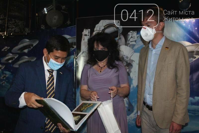 Житомирський музей космонавтики відвідав Надзвичайний і Повноважний Посол Республіки Індонезії в Україні, фото-7