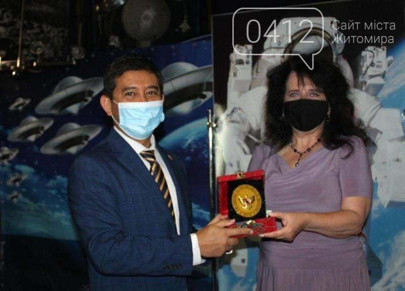 Житомирський музей космонавтики відвідав Надзвичайний і Повноважний Посол Республіки Індонезії в Україні, фото-8