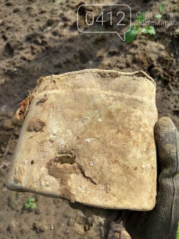 У Коростенському районі пошуківці знайшли останки трьох воїнів РСЧА, які загинули в серпні 1941-го, фото-2