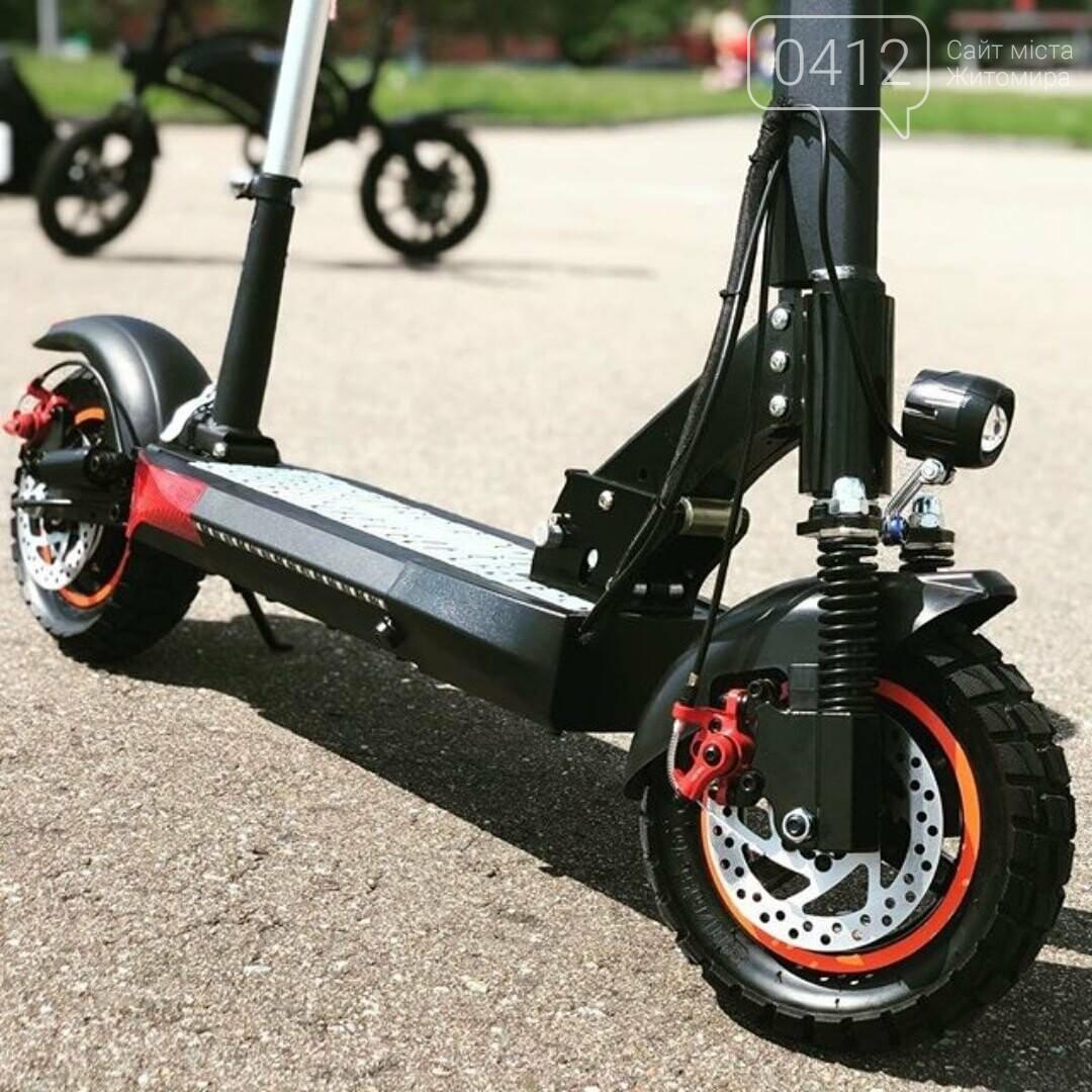Електросамокат Kugoo M4 Pro 2020 - позашляховик для їзди містом, фото-3