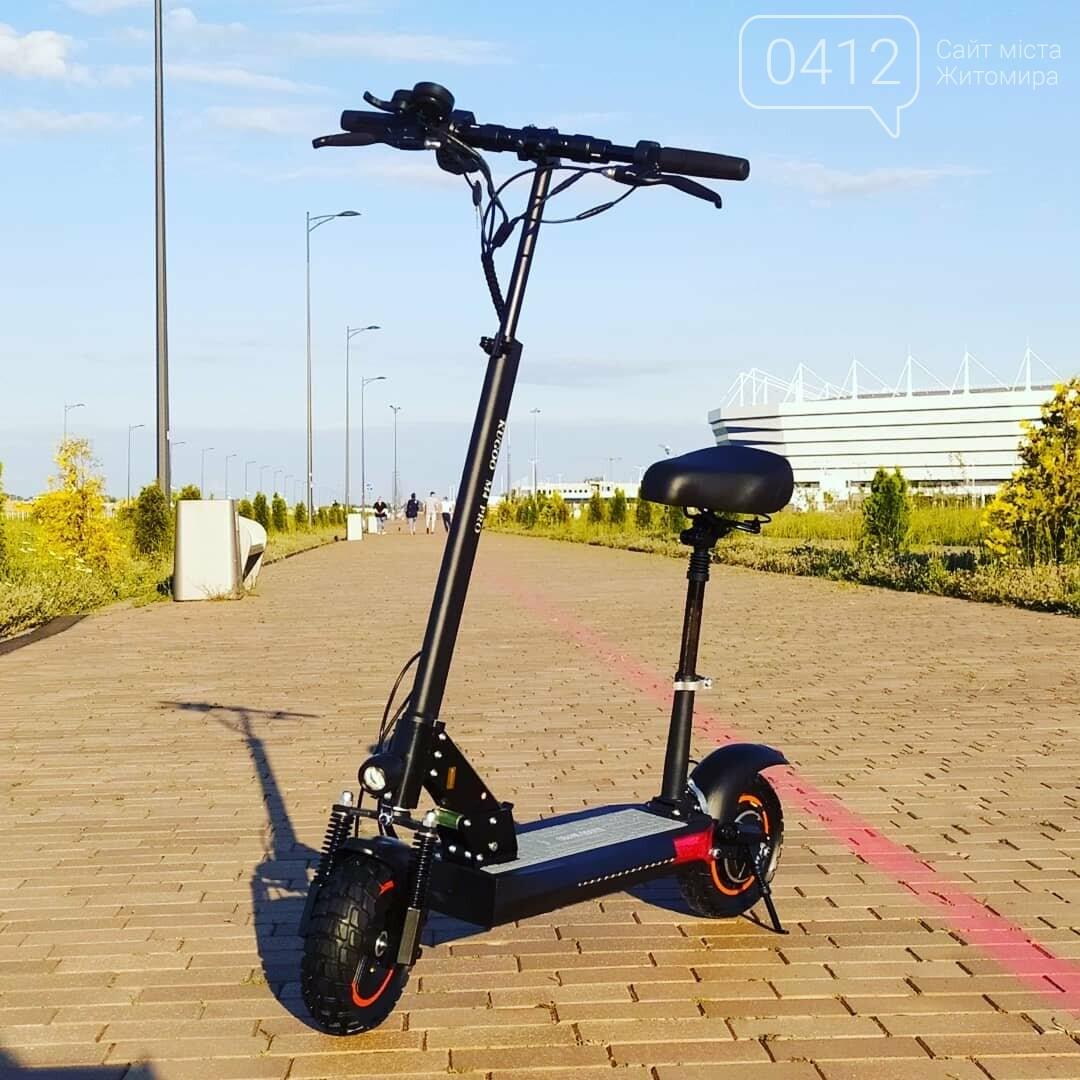 Електросамокат Kugoo M4 Pro 2020 - позашляховик для їзди містом, фото-1