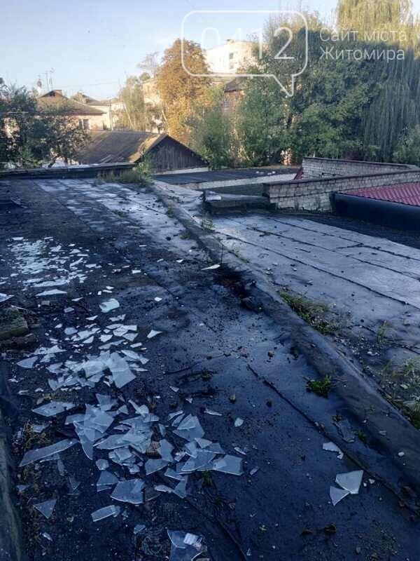 У Коростені на даху однойменного готелю пролунав вибух, фото-5