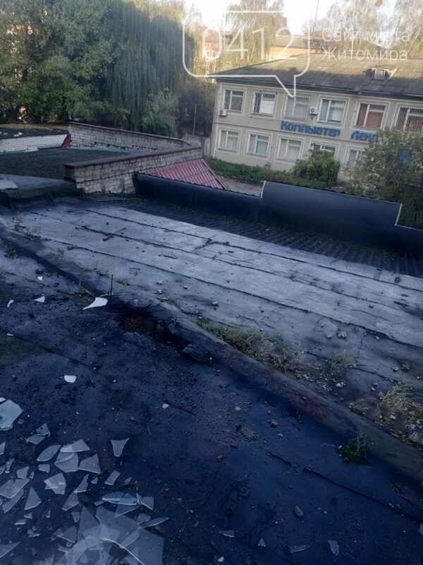 У Коростені на даху однойменного готелю пролунав вибух, фото-6