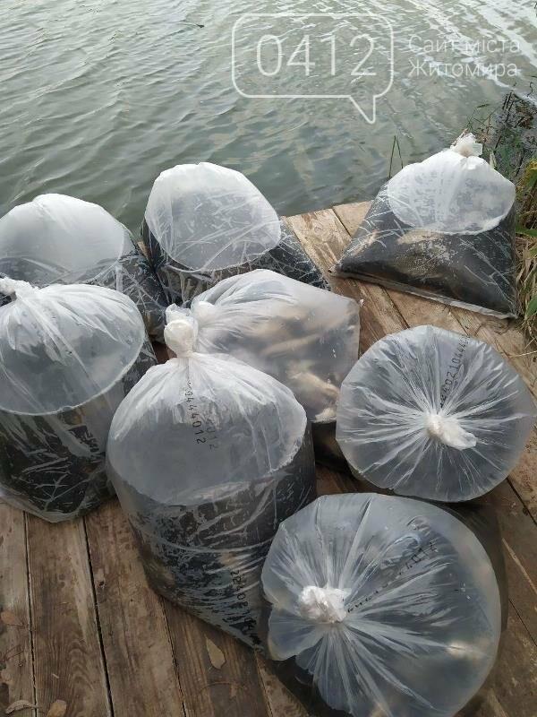 На Житомирщині у водойму поблизу села вселили 2,4 тис молодої риби. ФОТО, фото-8