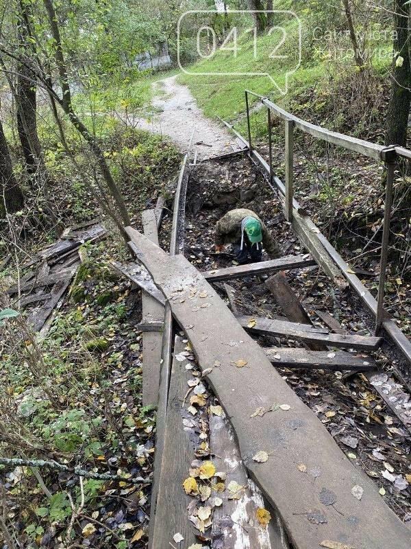 Толока біля річки Кам'янки: як активісти в Житомирі місток ремонтували. ФОТО, фото-1