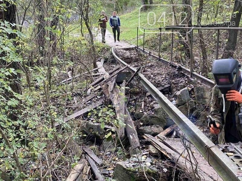 Толока біля річки Кам'янки: як активісти в Житомирі місток ремонтували. ФОТО, фото-3