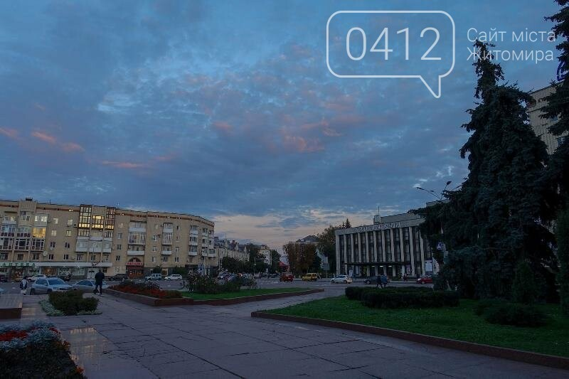 Краса вечірнього Житомира у світлинах, фото-3