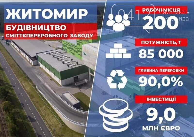 Компанія-інвестор отримала дозвіл на будівництво сміттєпереробного заводу в Житомирі, фото-2