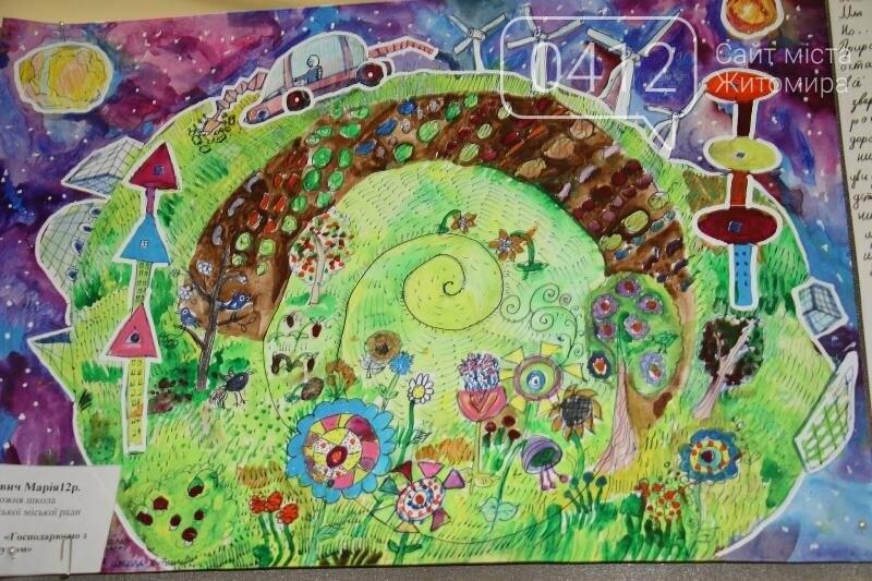 У Житомирі стартував конкурс дитячої творчості «Збережемо енергію – збережемо планету», фото-9