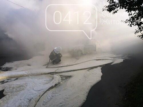 За минулу добу рятувальники Житомирщини загасили два автомобілі, фото-1