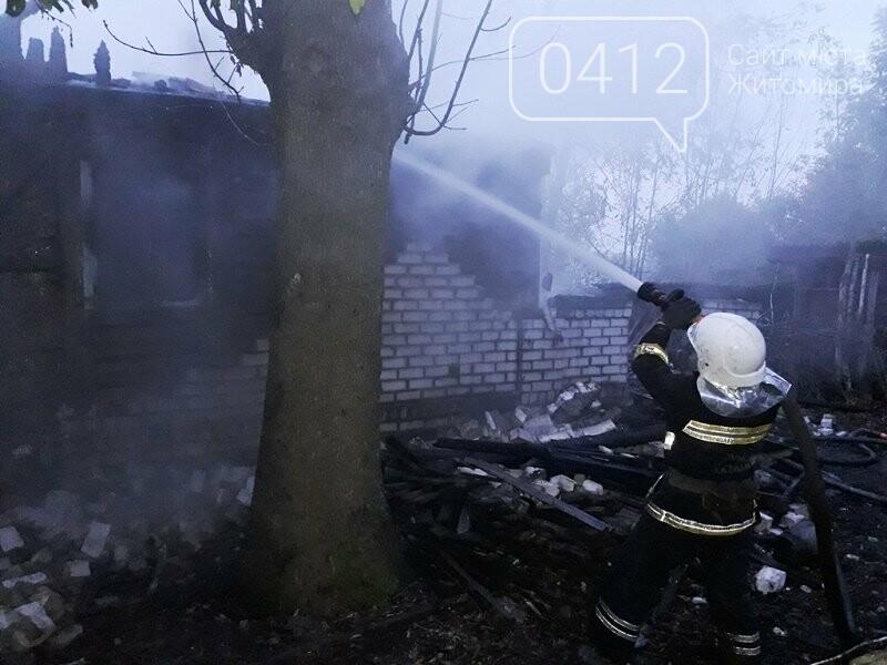 На Житомирщині виникло три пожежі в житловому секторі, в одній з яких загинула жінка, фото-2