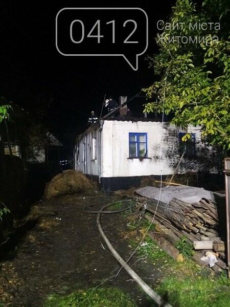 На території Житомирської області ліквідовано 3 пожежі у приватному секторі, фото-1