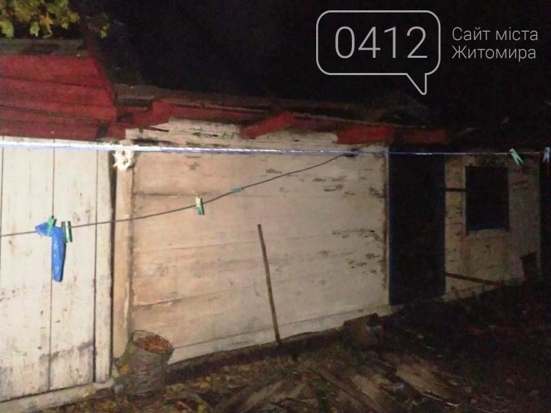 У Хорошівському районі упродовж доби рятувальники ліквідували дві пожежі в приватних обійстях селян, фото-1