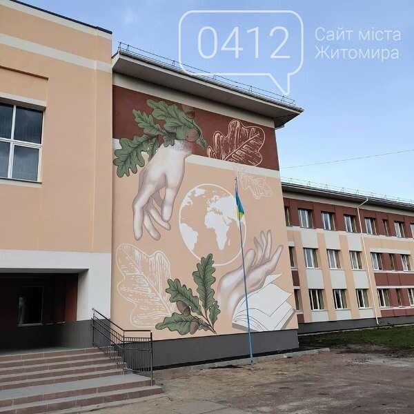 24 години роботи: житомирська художниця прикрасила розписом одну зі шкіл області. ФОТО, фото-4