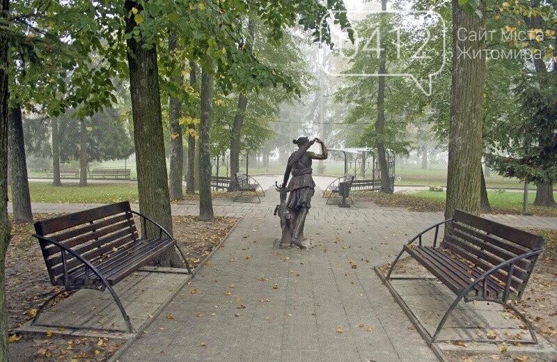 Осінь, парк, туман: фотопрогулянка жовтневим Житомиром, фото-15