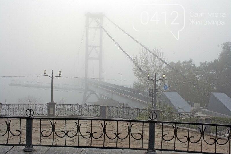 Осінь, парк, туман: фотопрогулянка жовтневим Житомиром, фото-5