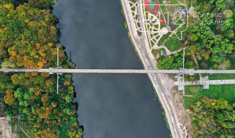 Зарічанський пішохідний міст — майже точна копія Босфорського?, фото-1