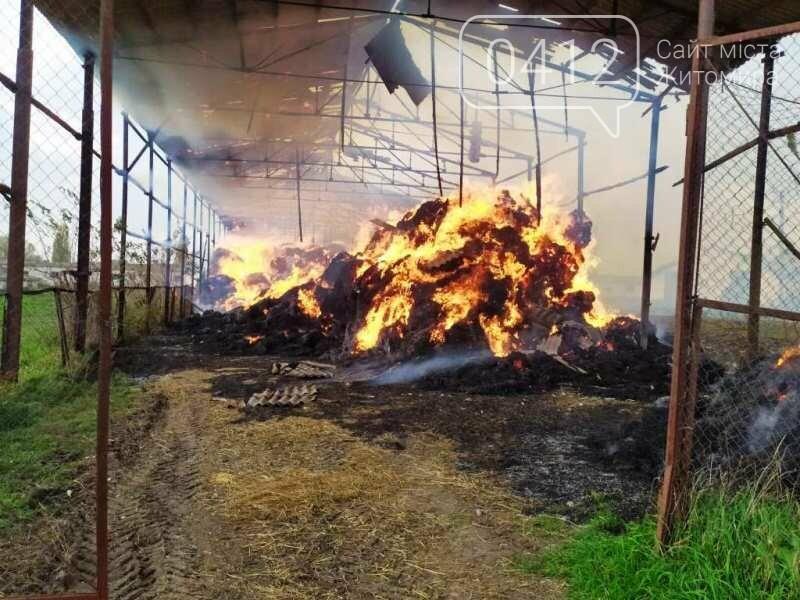 У Любарському районі вогнеборці ліквідували загоряння сінника, фото-2